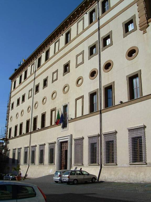 Palacio Doria-Pamphilij en Valmontone