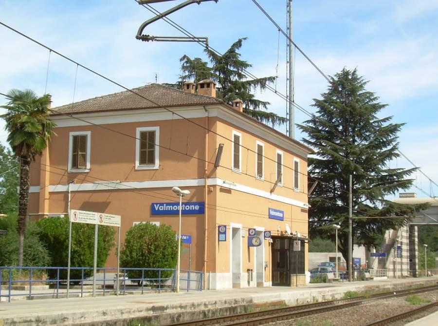 Estación de tren de Valmontone