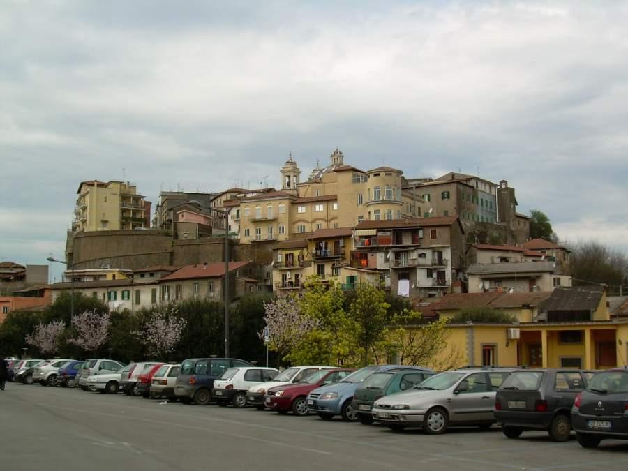 Centro histórico de la ciudad de Valmontone