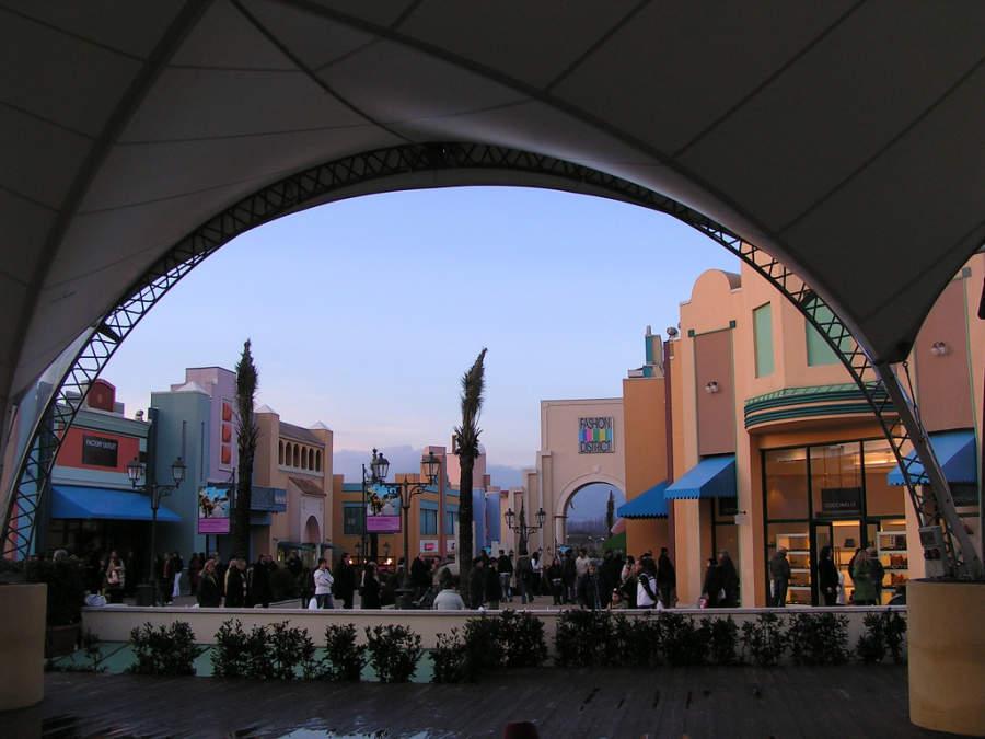 Centro comercial Valmontone Outlet