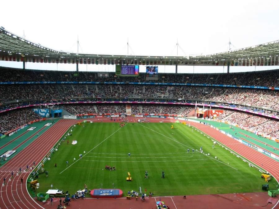 El Estadio de Francia es una de las principales construcciones en Saint-Denis