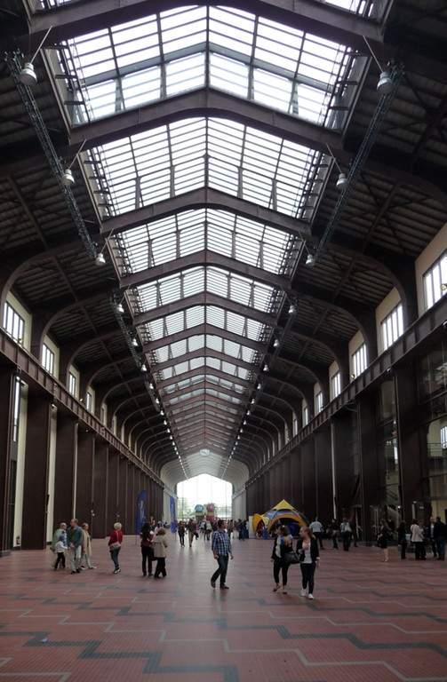 Instalaciones de la Ciudad del Cine en Saint-Denis