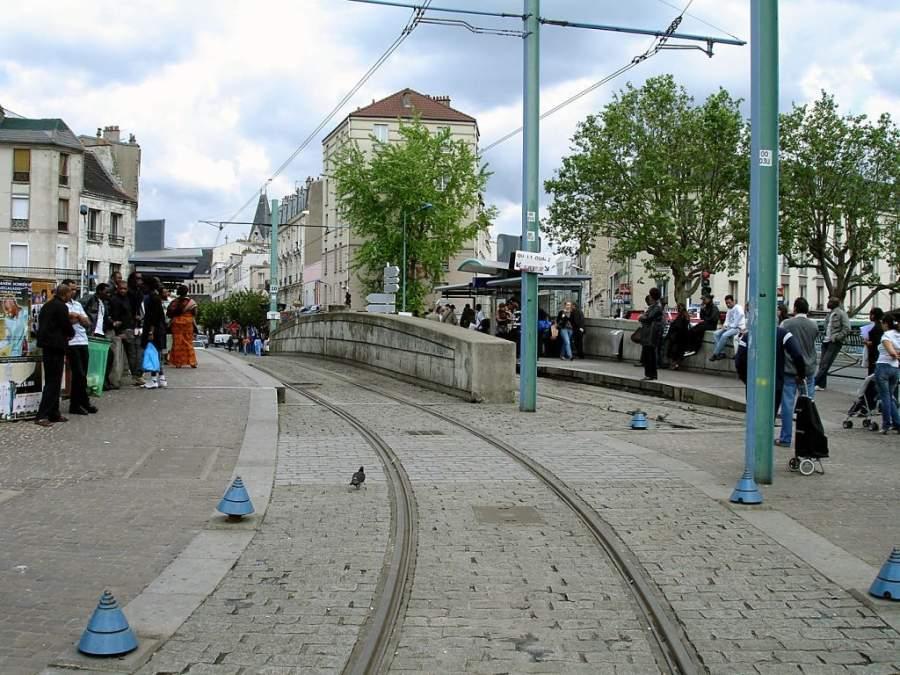 Estación de tren en Saint-Denis