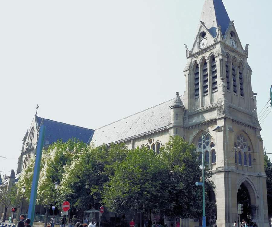 Iglesia Saint-Denis-de-l'Estrée
