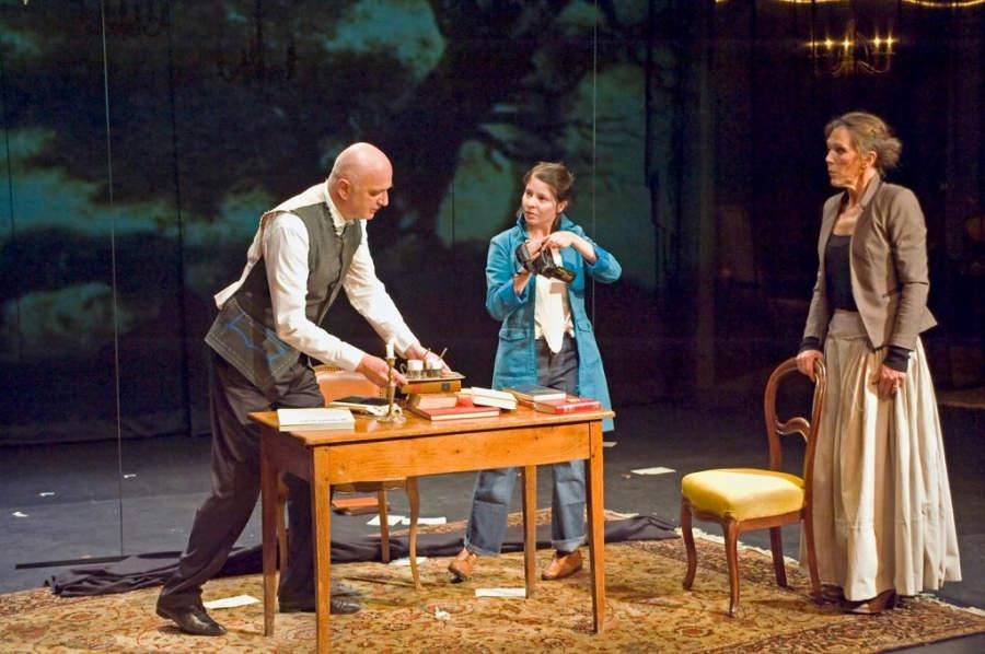 Puesta en escena en el Teatro Gérard Philipe en Saint-Denis