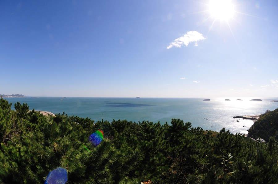 Disfruta de los paisajes que posee la ciudad de Dalian