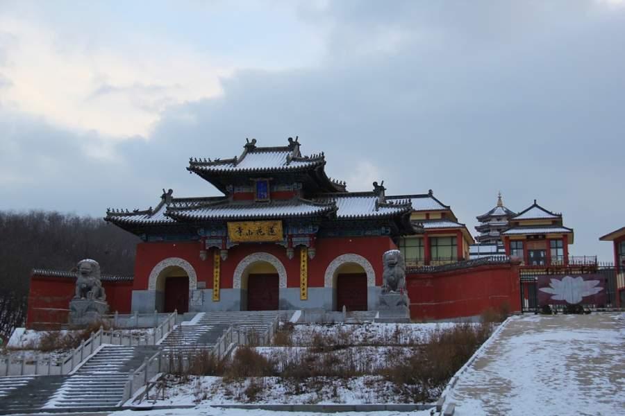Conoce el Templo Lianhuashan en Dalian
