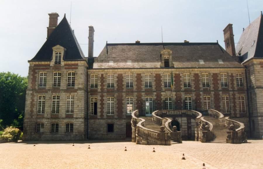 Château de Courances en los alrededores de Évry