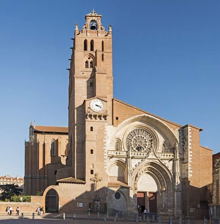 Catedral de San Esteban en Toulouse