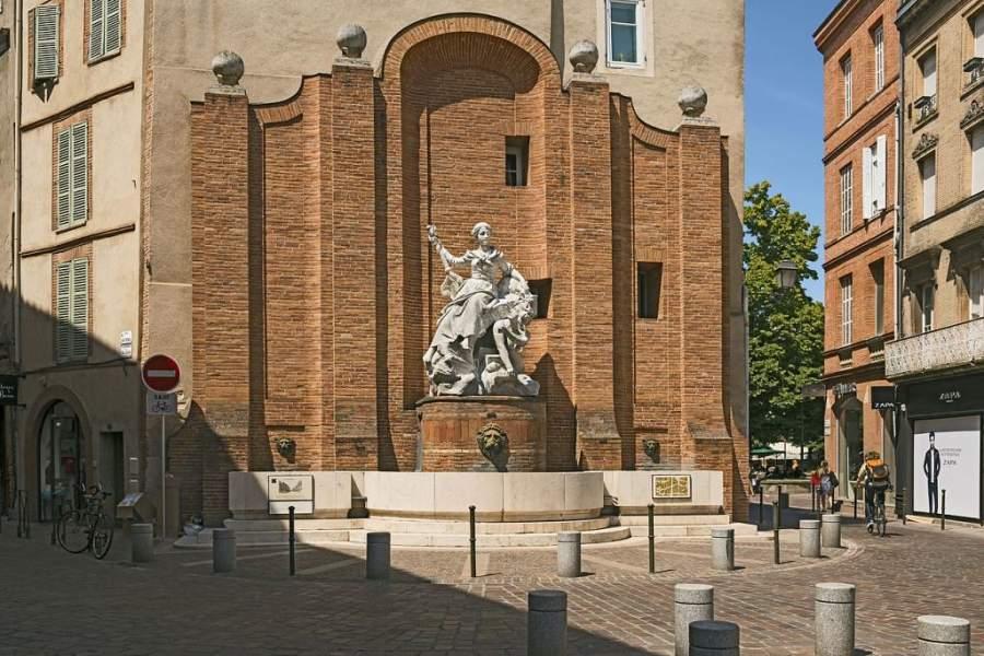 Fuente Boulbonne en Toulouse