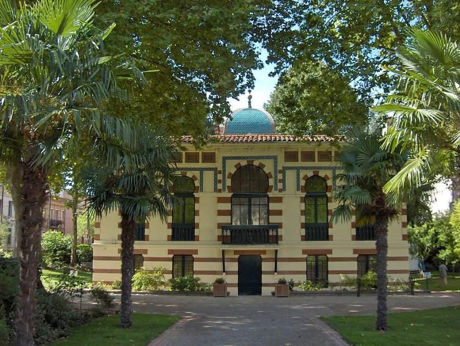 Fachada del Museo Georges Labit