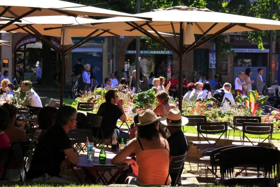 Restaurantes con terraza en Toulouse