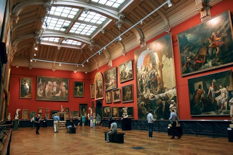 Interior del Museo de los Agustinos en Toulouse