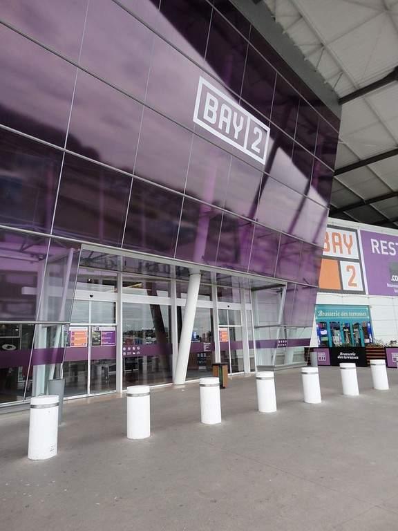 Centro comercial Bay 2 en la ciudad de Torcy