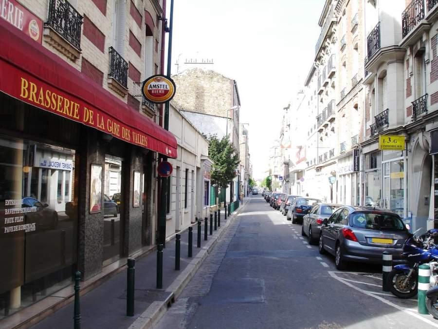 Rue des Vallées en Colombes