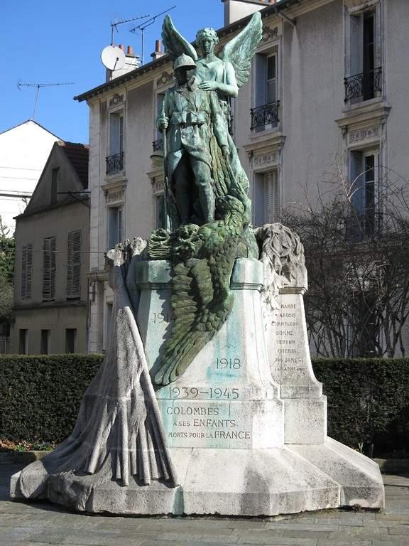 Monumento a los caídos por la patria en Colombes