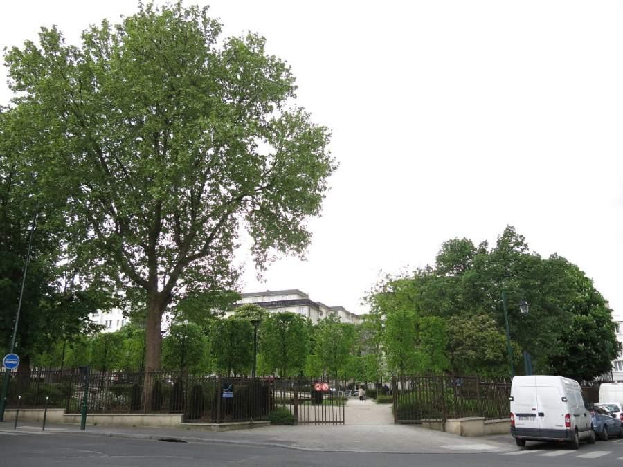 Plaza Edgar Quinet en Colombes