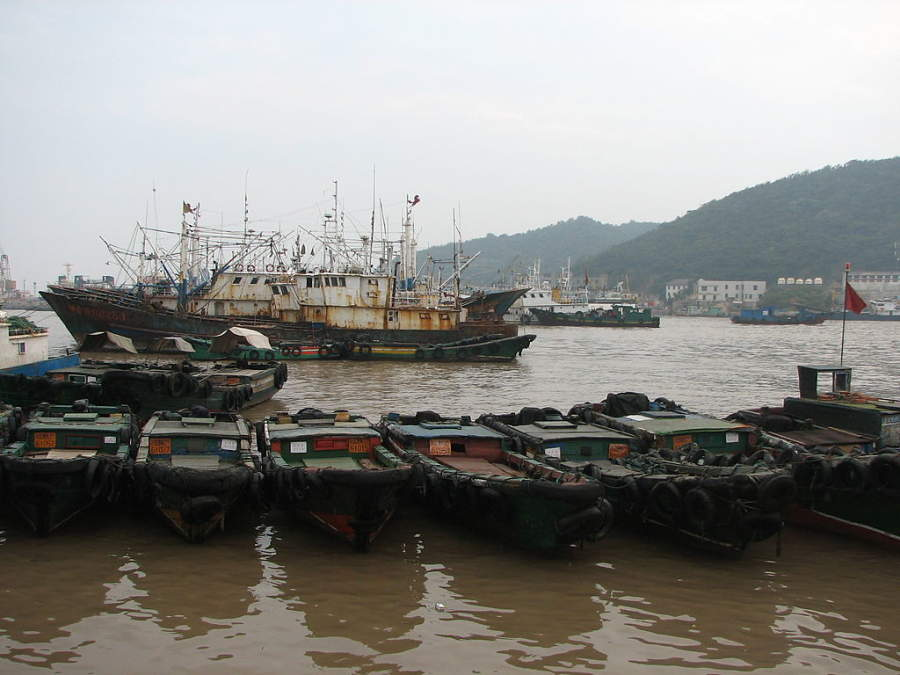 Zhoushan es una ciudad conformada por islas