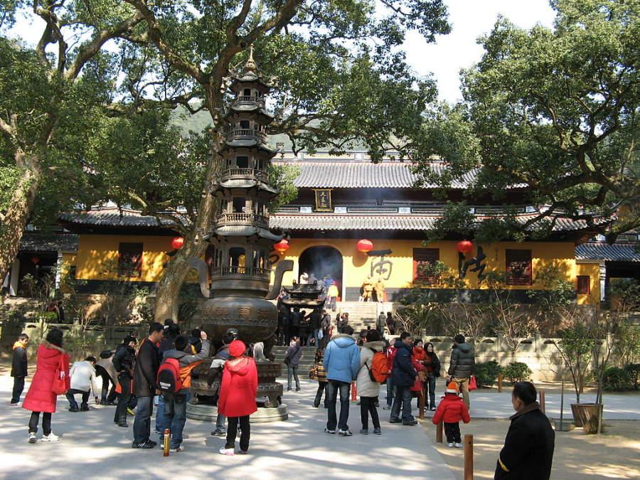 Conoce el Templo Fayu en Zhoushan