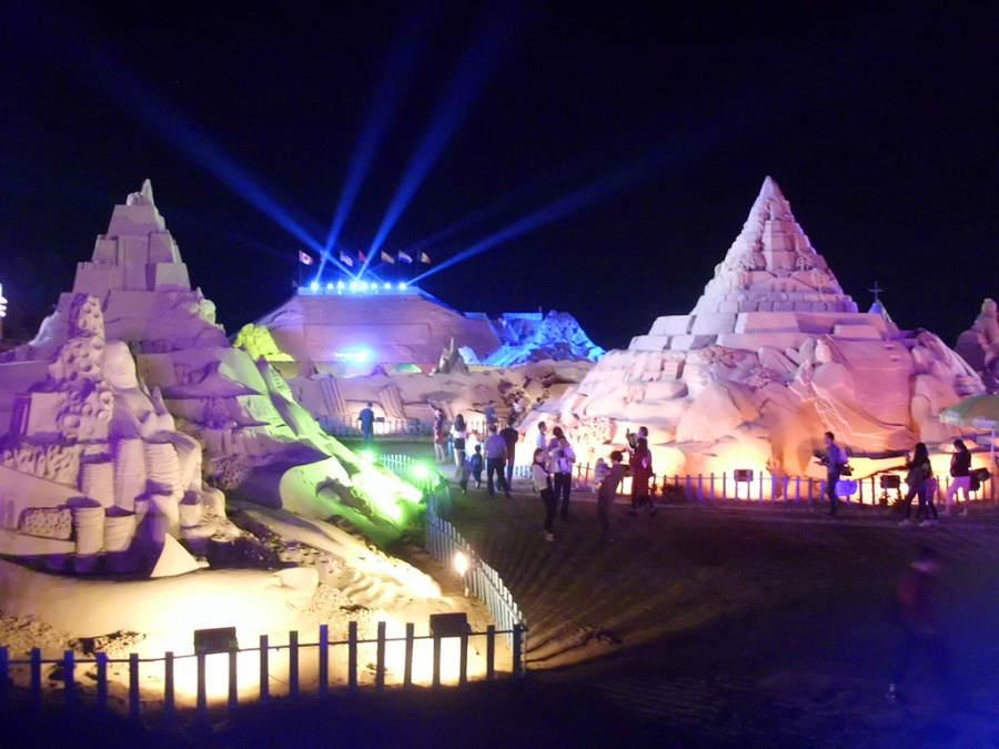 Festival Internacional de Escultura de Arena en Zhoushan