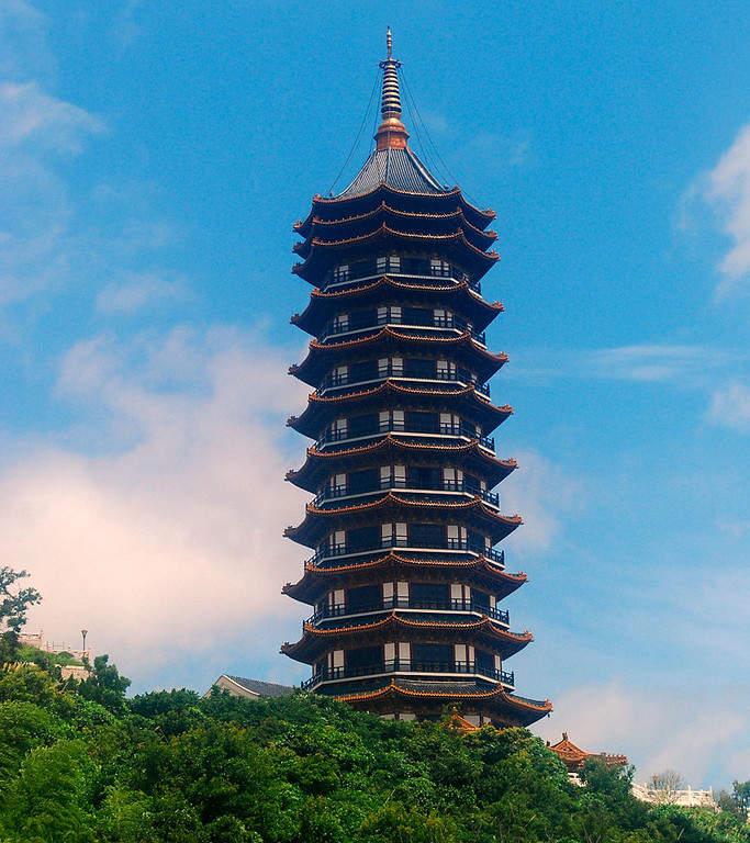 Maravíllate con el Templo Ji-hye en el monte Putuo en Zhoushan