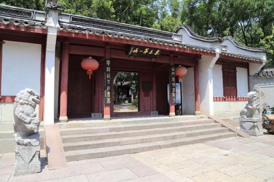 Templo Baoguo en la ciudad de Ningbo