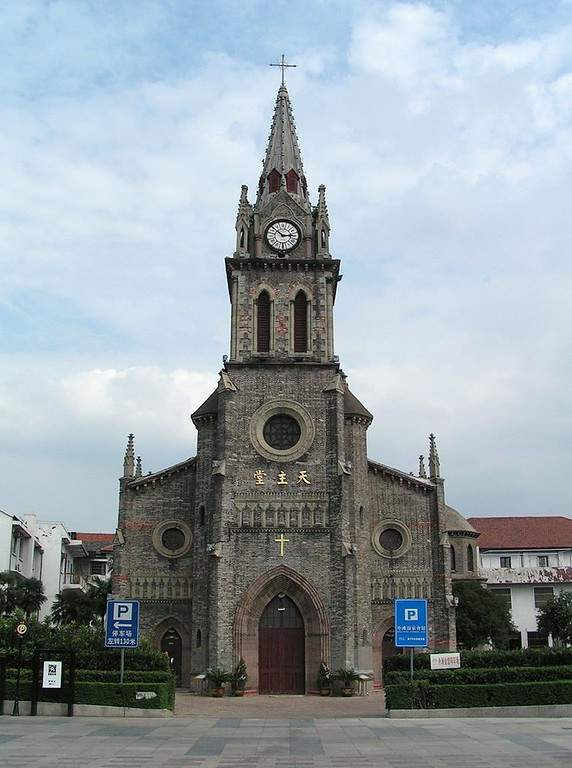 Conoce la Catedral de Jiangbei en Ningbo