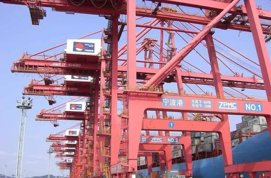 Ningbo es un importante puerto comercial