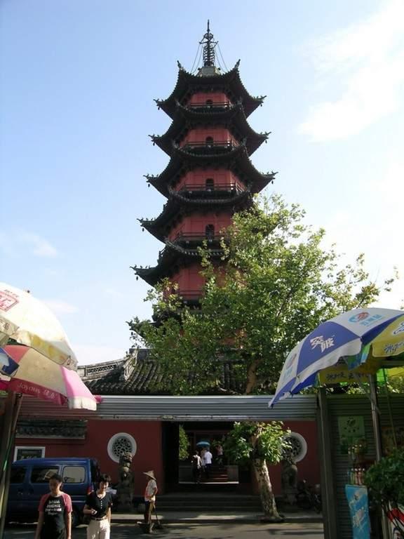 Tianfeng Pagoda, edificio histórico en la ciudad de Ningbo