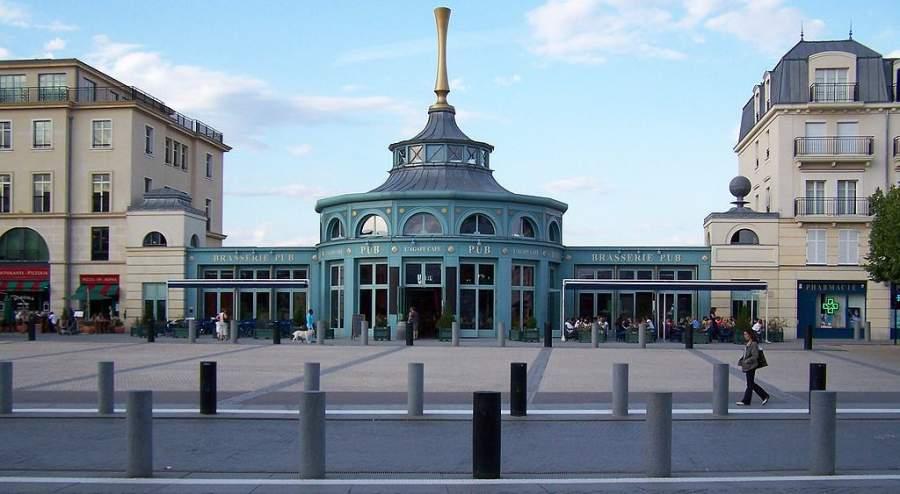Plaza de Ariadna en Marne-la-Vallée