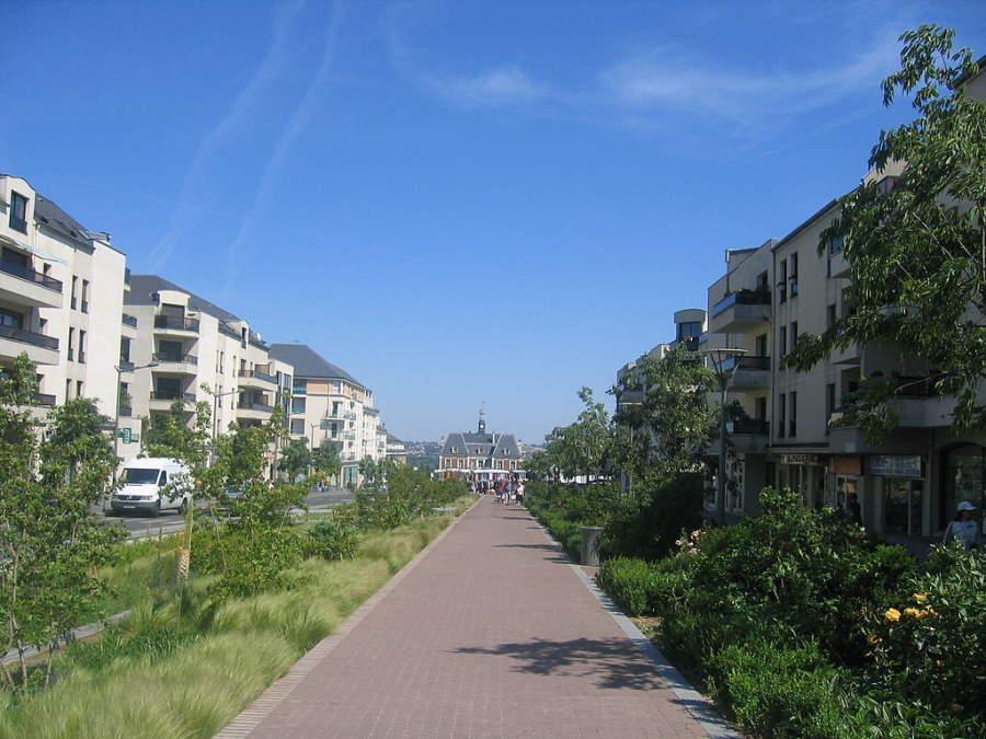 Arquitectura en la ciudad de Marne-la-Vallée