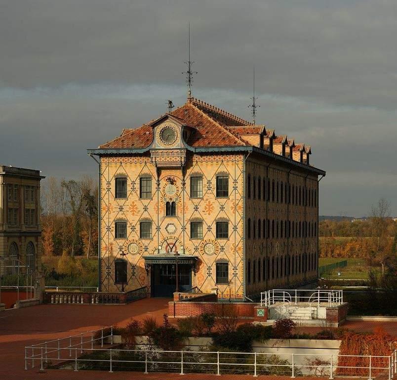 Fábrica de chocolate Menier en Marne-la-Vallée
