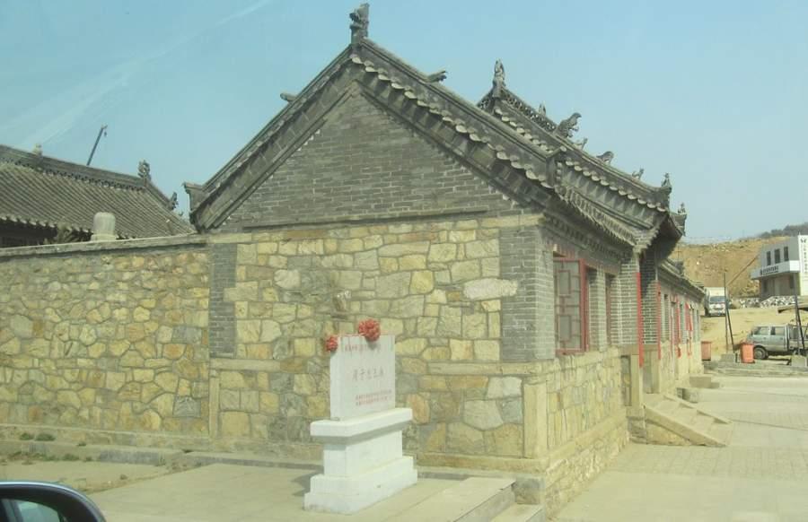 Monasterio en Weihai