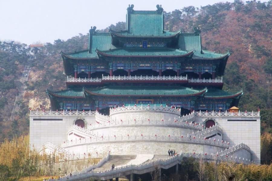 Templo Xianguting en Weihai