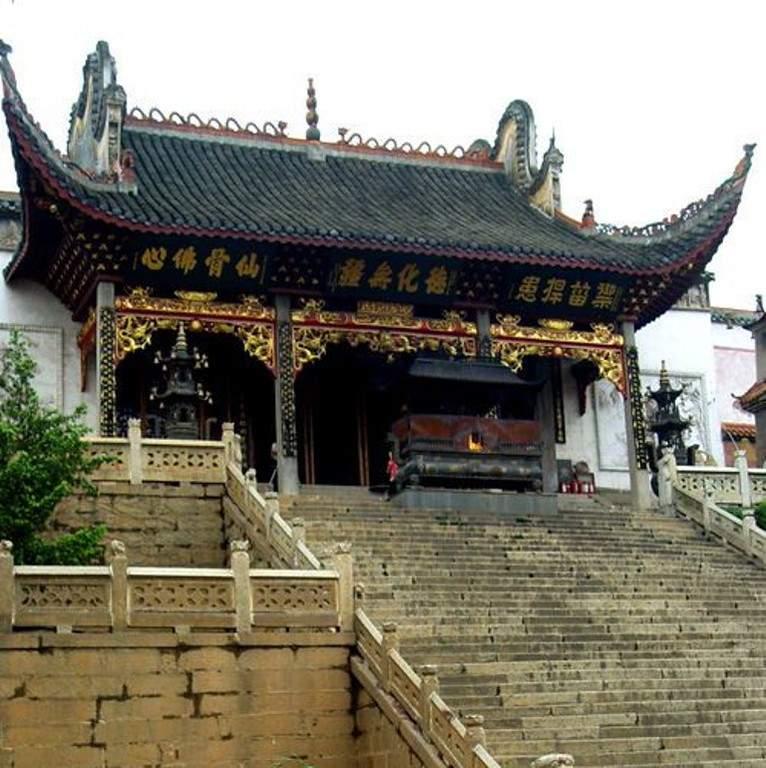 Admira la arquitectura del Templo Taogong en Changsha