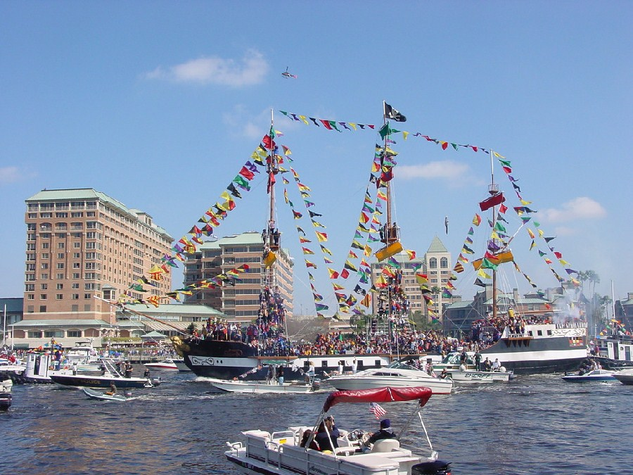 Pirate Fest, Tampa Bay