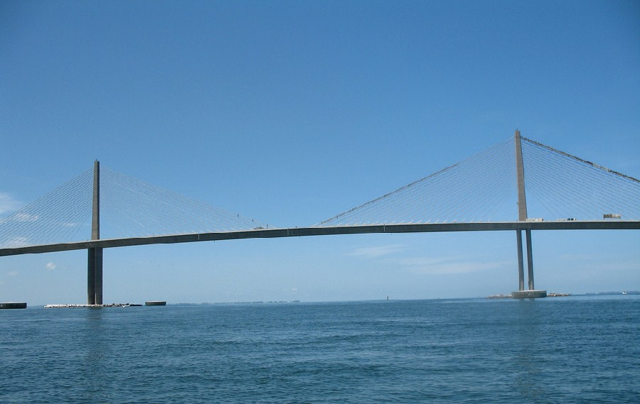Puente Bob Graham Sunshine Skyway Bridge