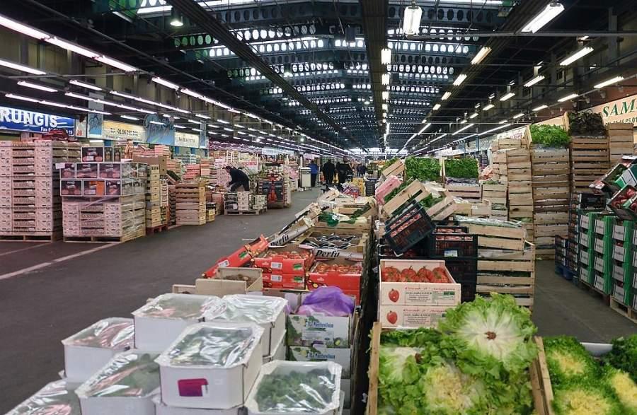 Marché International de Rungis, mercado principal de la región de París