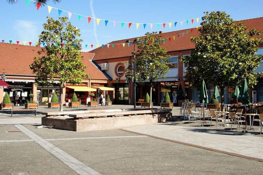 Plaza Louis XIII en Rungis