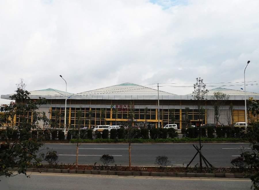 Estación de autobuses en Kunming