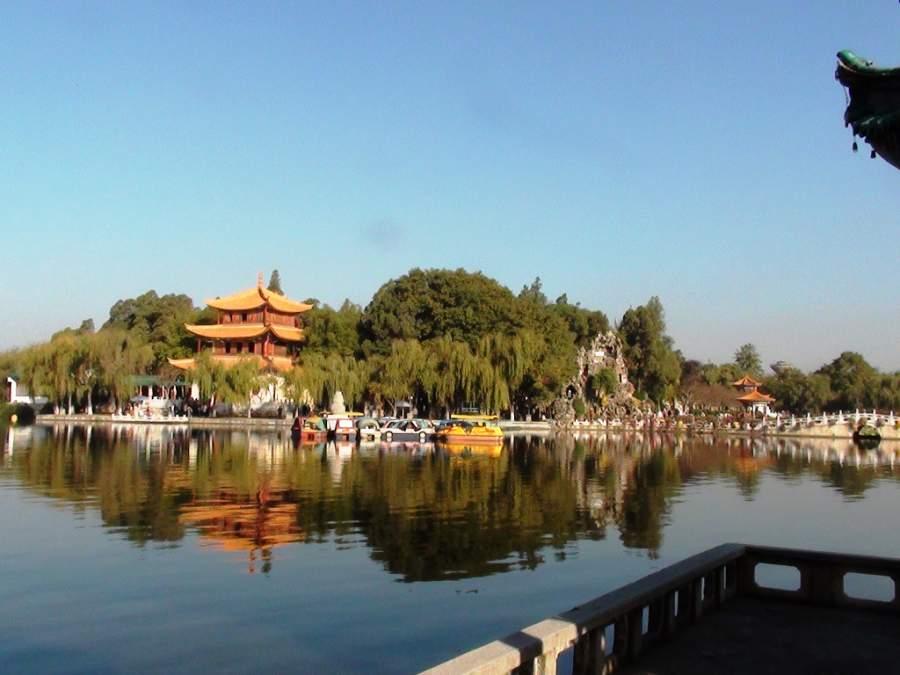 Lago Dianchi en Kunming