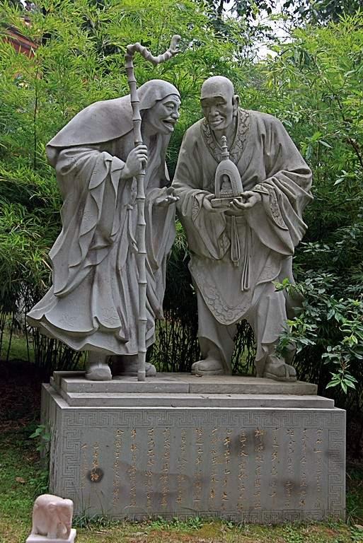 Esculturas en el Templo Qiongzhu en Kunming