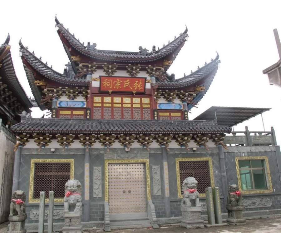 Maravíllate con el Santuario Zhang en Wenzhou