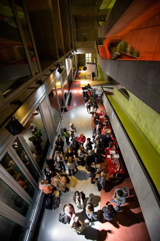 Diseño interior del Centro Nacional de la Danza