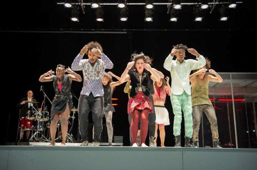 Función en el Centro Nacional de la Danza