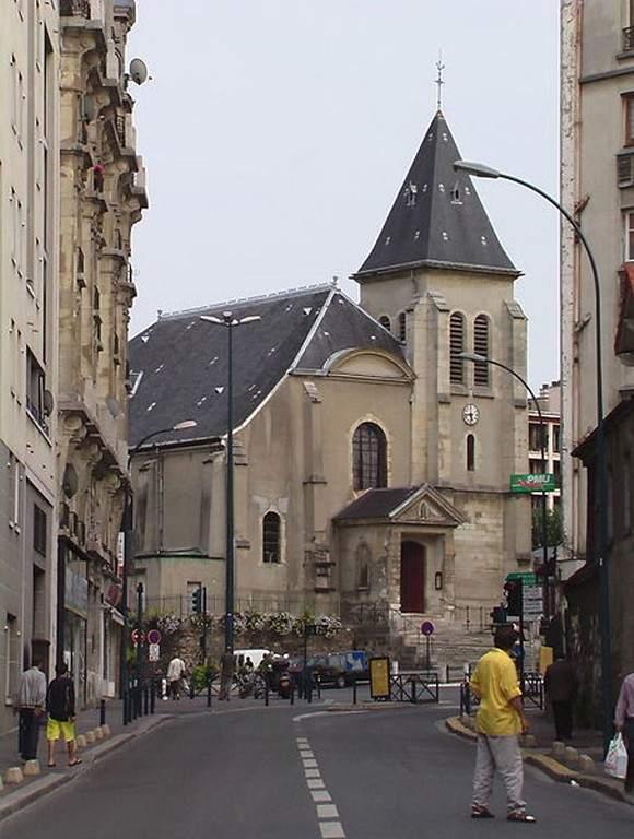 Iglesia Saint-Germain l'Auxerrois que data de 1664