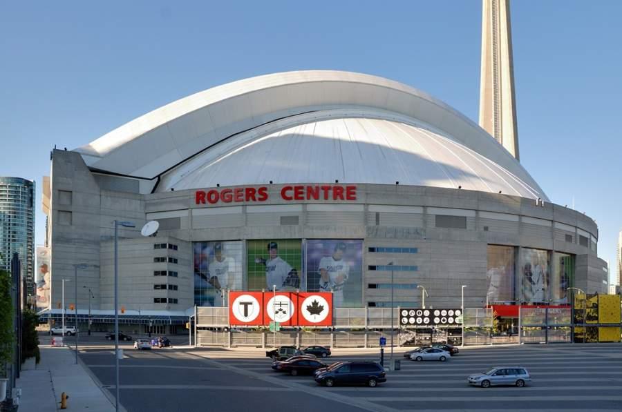 Exterior del estadio Rogers Center en Toronto