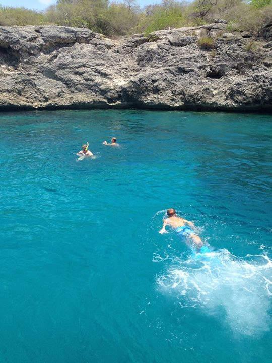 Westpunt posee playas ideales para practicar buceo y hacer snorkel