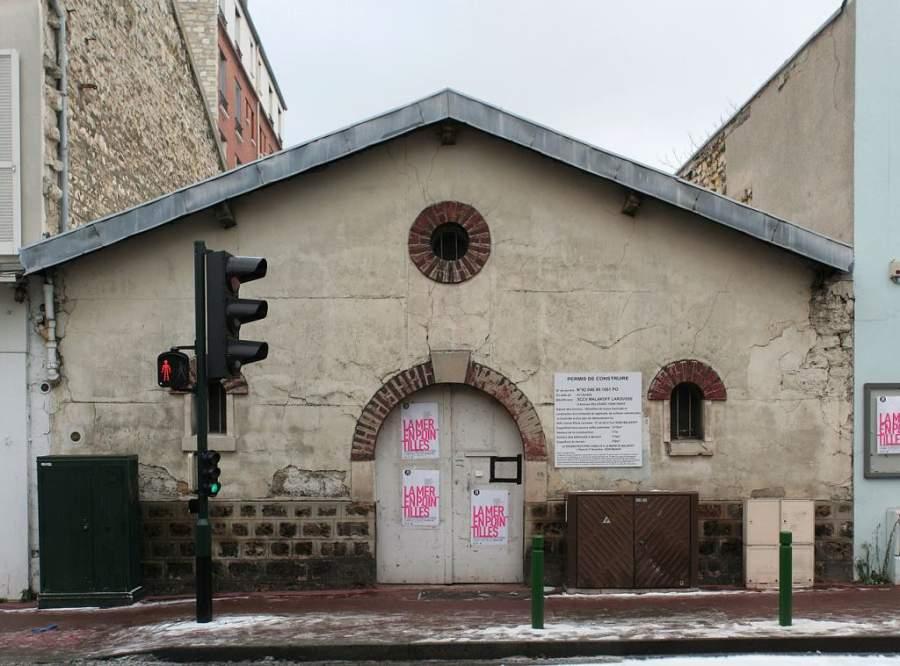 Antigua construcción en Malakoff