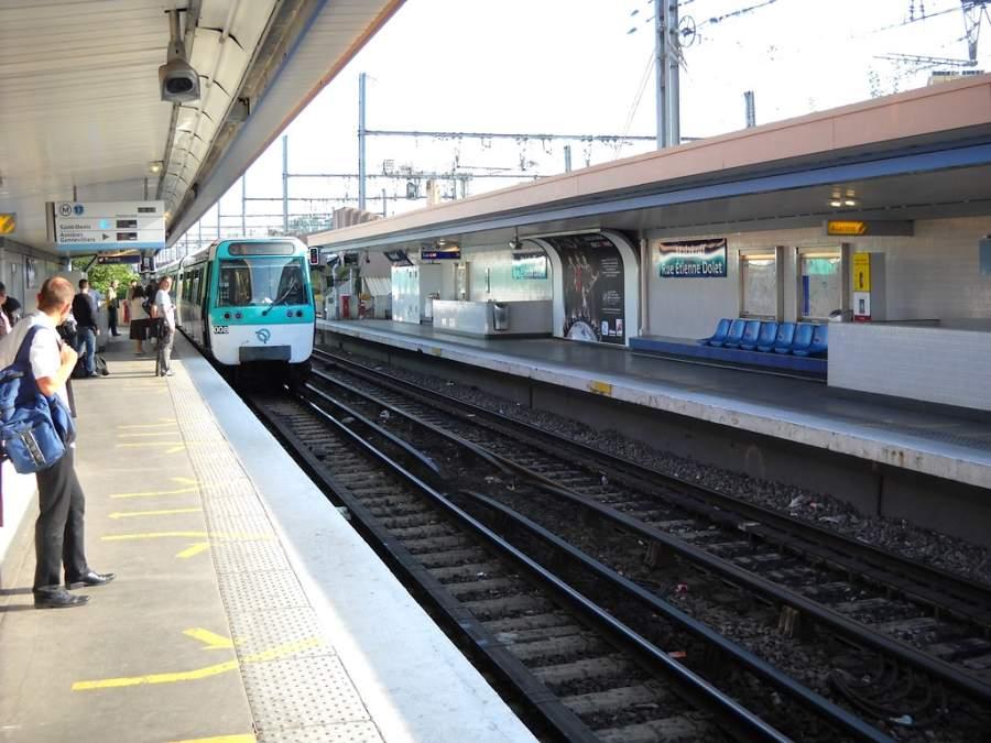 Estación de metro en Malakoff